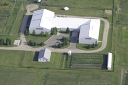 Remote Campus Facility Aerial
