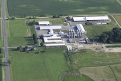 University Teaching and Research Farms Aerial Photo